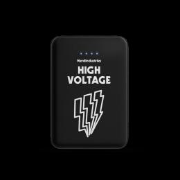 Nerdindustries 10.000 mAh Pocket Powerbank Design High Voltage